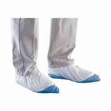 sur chaussure jetable blanc semelle bleue renforcee x 100