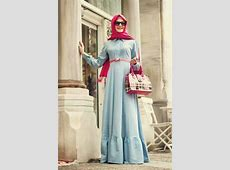 Trendy Maxi Dresses For Muslim Girls   HijabiWorld