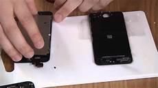 Iphone 5 Vitre Avant 233 Cran Lcd Noir Blanc Changer Ecran
