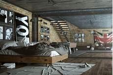 Chambre Style Industriel En 36 Id 233 Es De Chic Brut Authentique