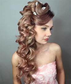 Side Curled Hairstyles