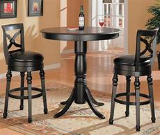 bar set coaster lathrop 3 piece bar table set del sol furniture