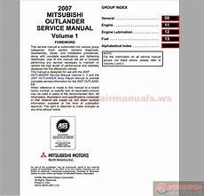 what is the best auto repair manual 2007 jeep wrangler security system mitsubishi 2007 outlander service manual auto repair manual forum heavy equipment forums