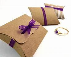 Mini Pillow Boxes 20 Diy Kraft Favor Boxes 2 X
