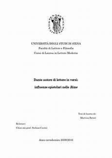 laurea lettere moderne universit 192 degli studi di siena facolt 224 di lettere e