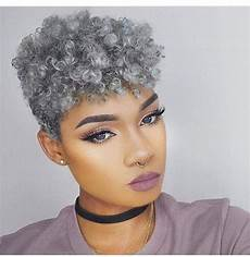 20 best of short hairstyles for black with gray hair