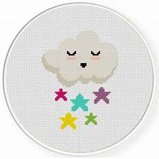 free cross stitch patterns stars charts club members only raining stars cross stitch pattern daily cross stitch
