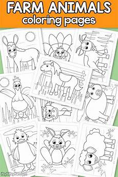 age animals coloring pages 17036 farm animals coloring pages for itsy bitsy