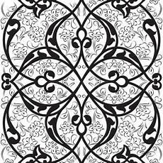 turco ottomano disegno floreale dell turco ottomano illustrazione