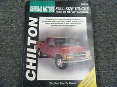 service and repair manuals 1995 chevrolet tahoe on board diagnostic system 1995 1998 chilton chevy tahoe truck shop service repair manual ls lt 1996 1997 ebay