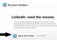 how to create resume from linkedin profile techies net