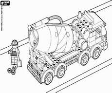 Ausmalbilder Lego Lkw Ausmalbilder Lkw Und Arbeitnehmer Aus Lego City Zum Ausdrucken