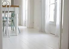 Peindre Parquet En Blanc Le Mode D Emploi Le