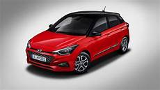 new hyundai i20 b segment hatch gets updated styling and
