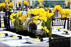 wedding ideas with yellow black and white yellow wedding color combination ideas dream weddings start here
