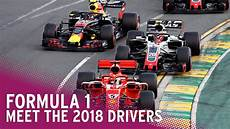 Formula 1 2018 Season Meet The Teams Drivers