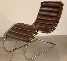 Mies Der Rohe Chaise Lounge At 1stdibs
