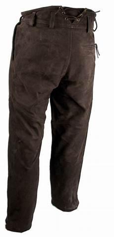 pantalon de chasse en cuir de buffle somlys 665