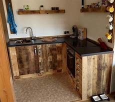 Küchen Selber Bauen Ideen - k 252 chenm 246 bel aus aufbereiteten europaletten