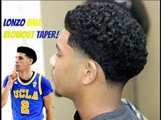 barber tutorial blowout taper hd youtube