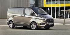 Ford Transit Custom Facelift Previewed With Tourneo