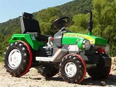 elektro traktor mit turbo speed 12 volt akku in top