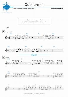 other sheet music oublie moi coeur de pirate easy