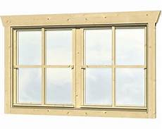 holzfenster für gartenhaus doppelfenster f 252 r gartenhaus 45 mm skan holz 2x57 5x70 5
