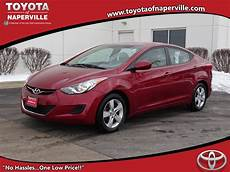 Naperville Hyundai by Pre Owned 2013 Hyundai Elantra Gls 4d Sedan In Naperville