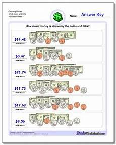 counting money worksheets bills and coins 2081 counting money