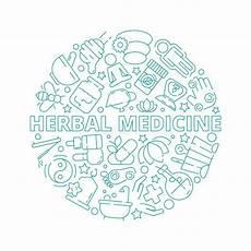simbolos naturales concepto s 237 mbolos de la medicina natural ilustraci 243 n del vector ilustraci 243 n de conceptos insignia 9009975
