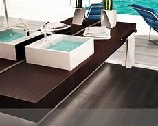 piano lavabo bagno mensola bagno per lavabo d appoggio in legno in vari colori