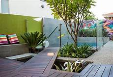 kleiner garten terrasse ideen modern pool hinterhof