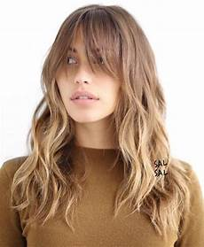 40 cute and effortless long layered haircuts with bangs