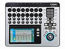 Qsc Touchmix 16 20 Channel Digital Audio Mixer With 12 Mic