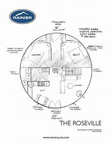 yurt house plans rainier yurts the roseville floor plan in 2019 bedroom