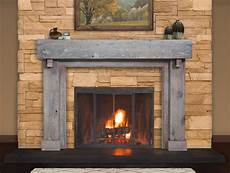 foyer bois reclaimed wood mantels for a rustic or antique fireplace