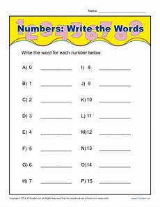 writing numbers words worksheet 21247 write the words that spell the numbers worksheet activity