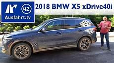2018 bmw x5 xdrive40i xline g05 kaufberatung test
