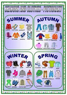 worksheets seasons and clothes 14754 clothes and seasons pictionary worksheet free esl printable worksheets made by teachers