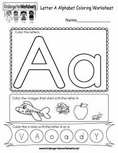 kindergarten letter a worksheets 23374 free kindergarten alphabet worksheets learning the basics