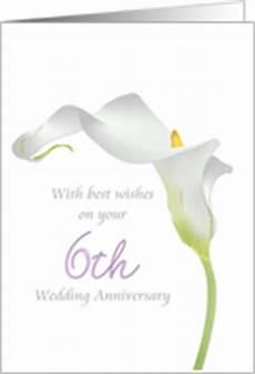 6th Wedding Anniversary Flower