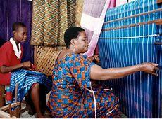 Africa   Akwete Traditional Weaving. Nigeria   ©Muyiwa