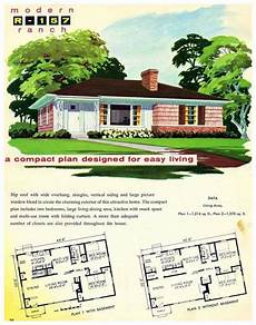 1950s ranch house plans best of 1956 national plan service