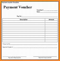 7 payment voucher format in word simple salary slip