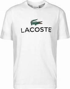 t shirt lacoste sport lacoste sport big croc t shirt wit