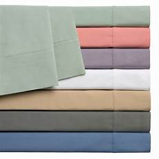 home styles cotton rich solid percale sheet ebay