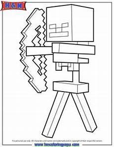 Zauberer Malvorlagen Minecraft Minecraft Ausmalbilder Steve Ausmalbilder F 252 R Kinder