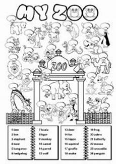 13 best images of zoo activity worksheets for elementary