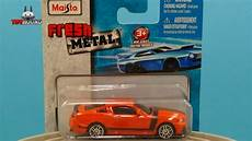 maisto fresh metal 3 inch 2013 ford mustang boss 302 diecast review youtube